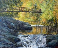 Boulder Creek Bridge Eben G. Fine