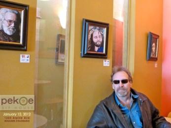 Pekoe Sip House Art Show January 2012