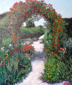 Giverney Garden Path