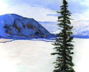 Bear Lake Painting