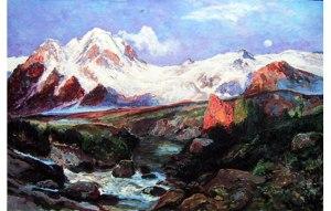 Big Tetons Mountains