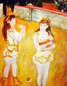 Renoir's Circus Girls