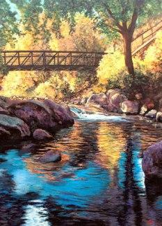 Boulder Creek at Eben G. Fine Park