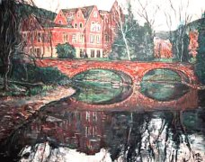 Varsity Lake Bridge University of Colorado Boulder