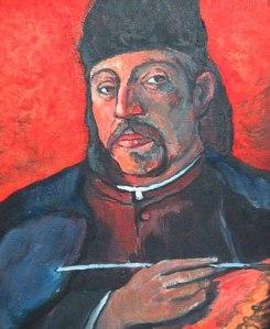 Gauguin self-portrait