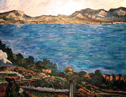 Gulf of Marseilles from L'Estraque
