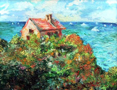 Fisherman's House at Varengeville-sur-Mer