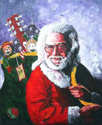 Santa Jerry with a Bag of Toys