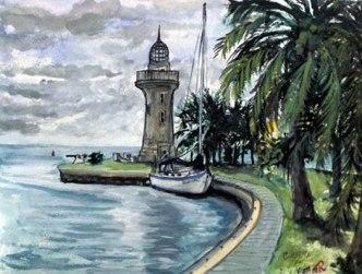 Lighthouse Boca Chita Key