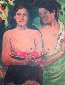 Gauguin's Femmes aux Mangues