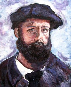 Claude Monet self-portrait