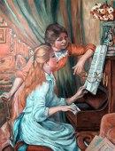 Renoir's Girls at the Piano