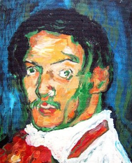 Picasso self-portrait