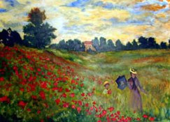 Poppies of Argenteuil Meadow