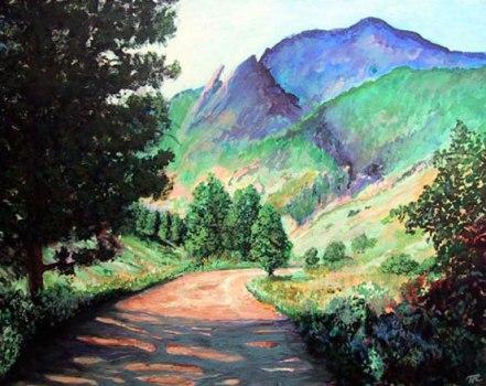 Sanitas Trail Boulder Colorado