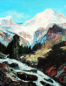 Tetons Mountains