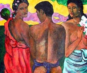Gauguin's Three Bathers
