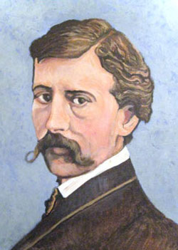 Self-portrait of Winslow Homer