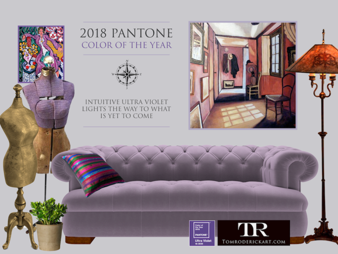 Pantone Color of the Year 2018 Ultra Violet