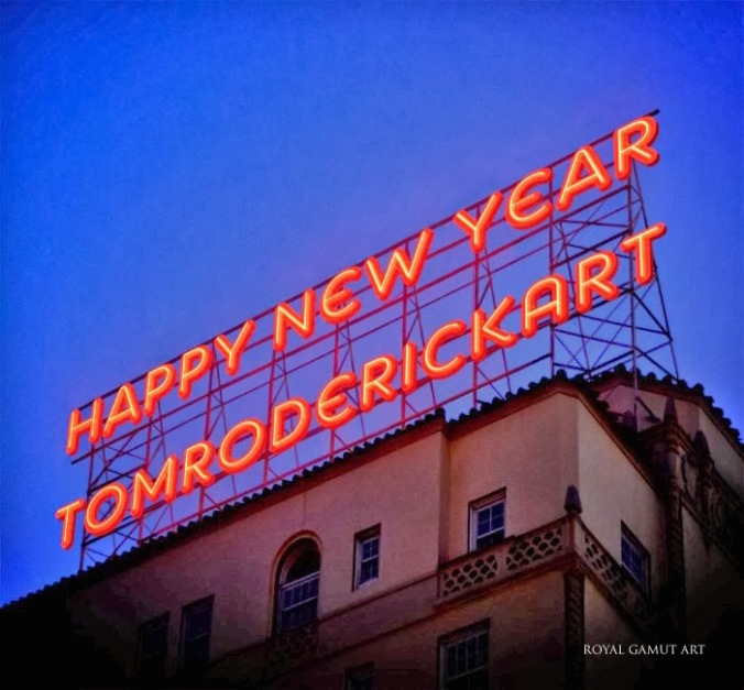 Happy New Year 2018 Tom Roderick Art