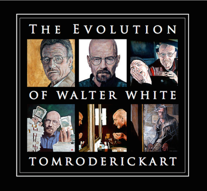 Portraits of Walter White