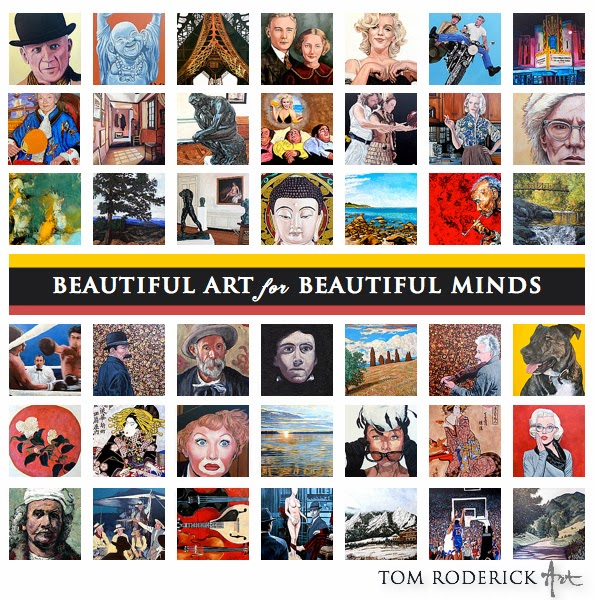 Collection of portraits painted by Boulder portrait artist Tom Roderick