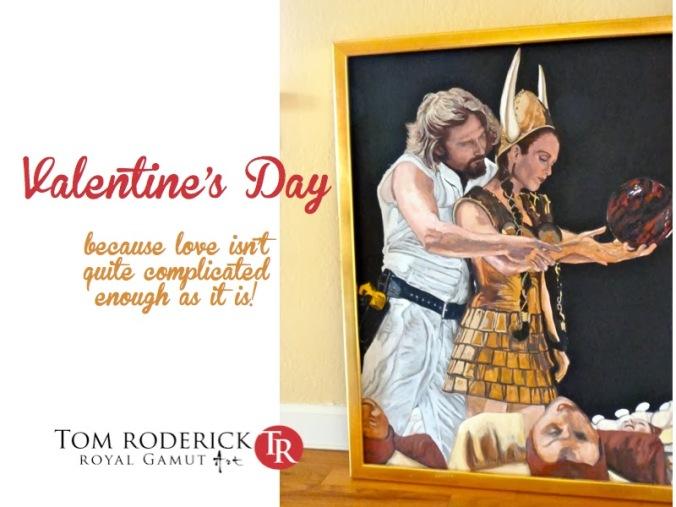 Valentine's Day promo troderickart.com
