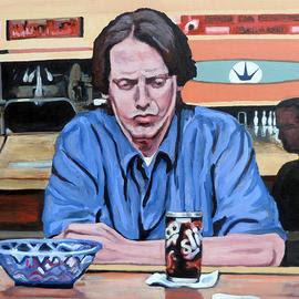Donny by Boulder portrait artist Tom Roderick