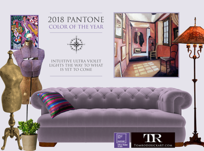 Color of the Year 2018 promo Tom Roderick Art