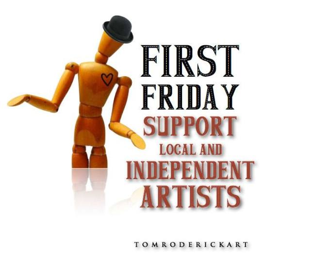 First Friday Promo for Tom Roderick Art