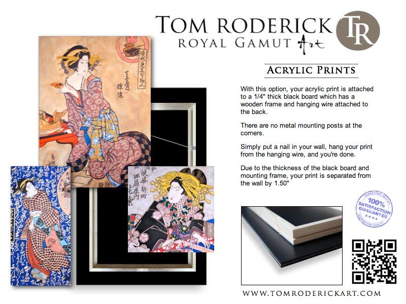 Acrylic Prints by Boulder artist Tom Roderick.