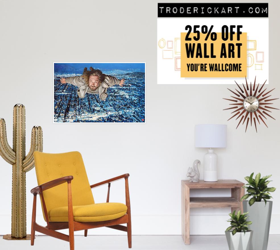 25% off wall art promo