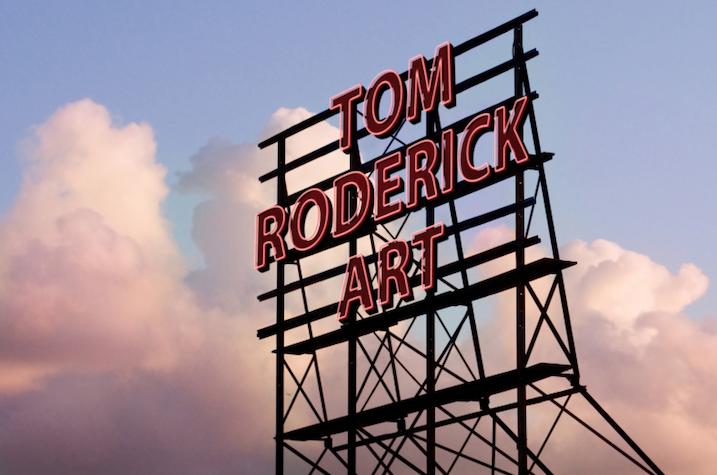 Tom Roderick Art Sign Boulder Colorado