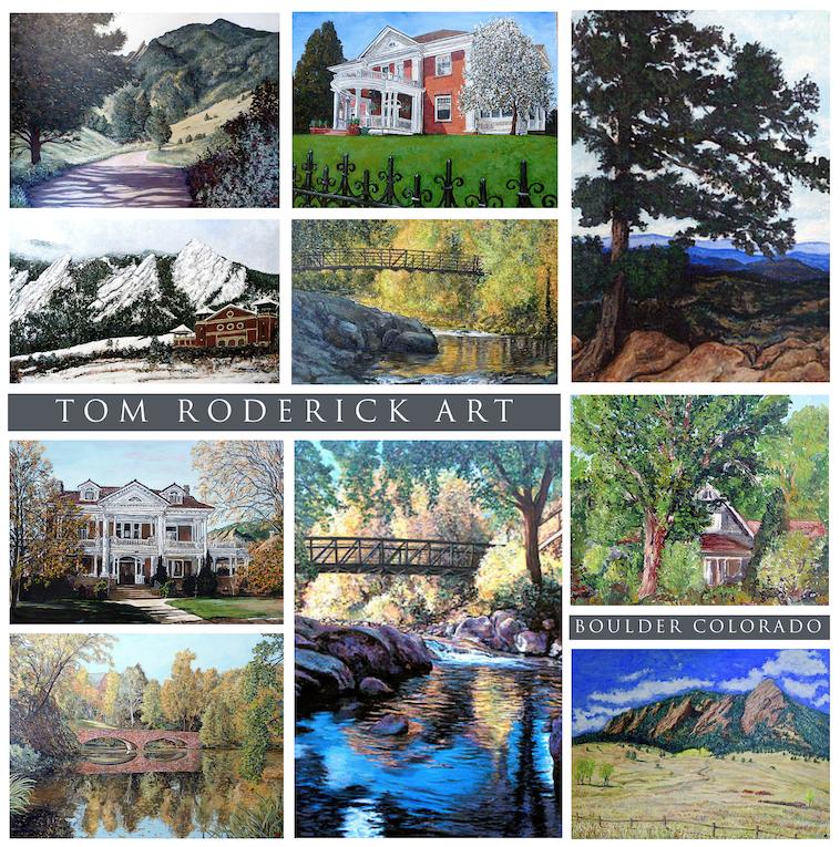 Landscape Art by Boulder artist Tom Roderick.