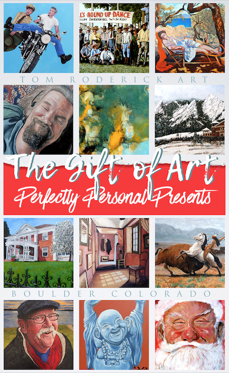 The Gift of Art Perfectly Personal Presents by Tom Roderick Art