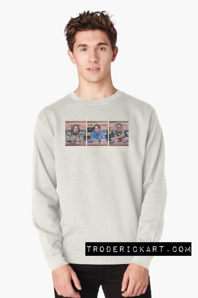 Classic sweatshirt by Boulder artist Tom Roderick