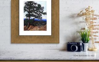 Flagstaff Mountain by Boulder artist Tom Roderick