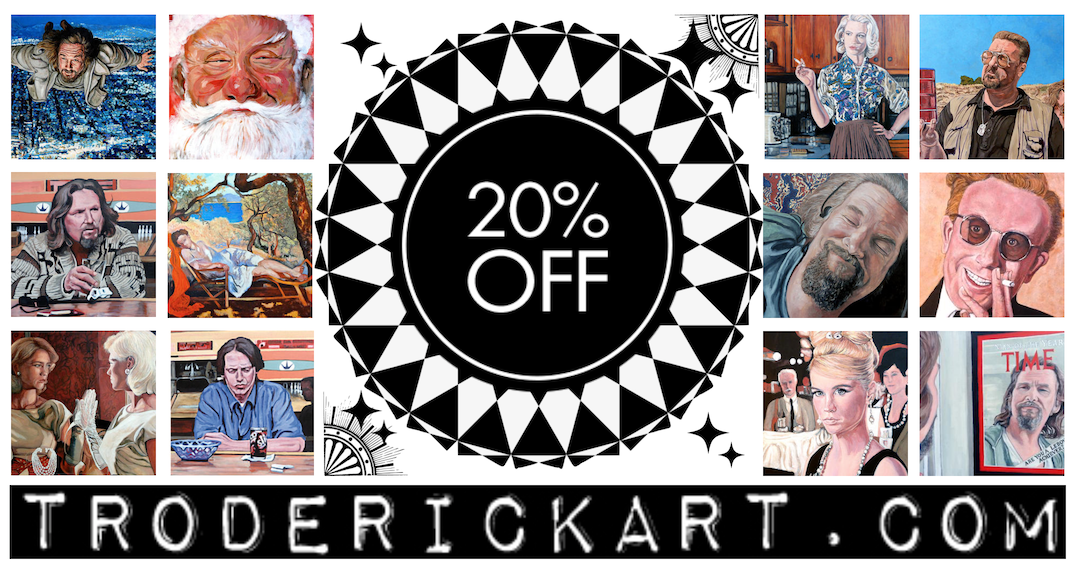 Coupon Code 20OFF Troderickart.com