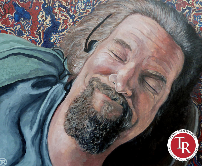 Portrait of the Dude by Boulder Portrait Artist Tom Roderick.