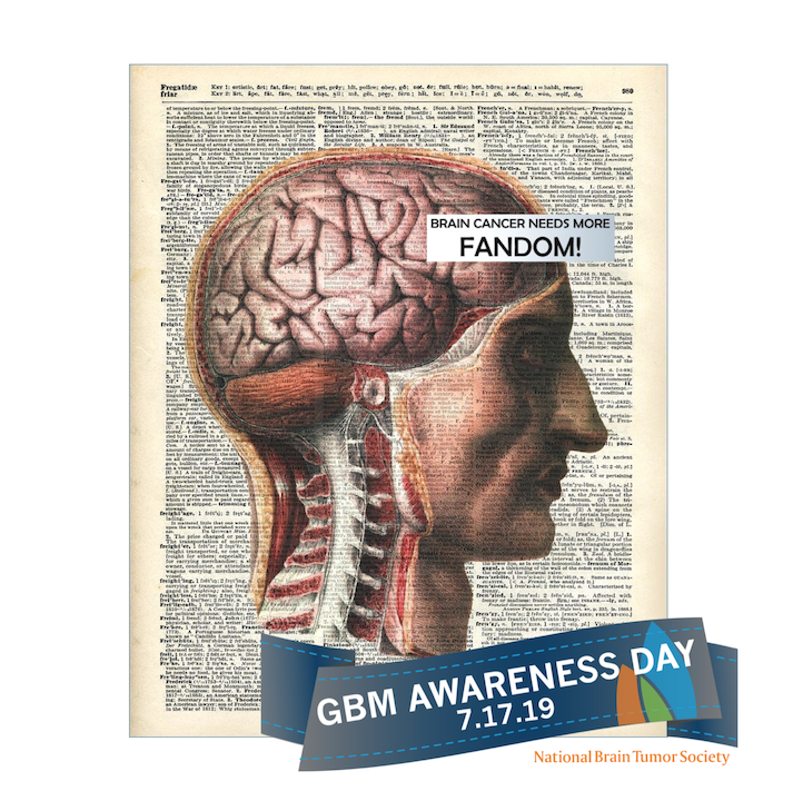 Brain Cancer needs more fandom glioblastoma day July 2019