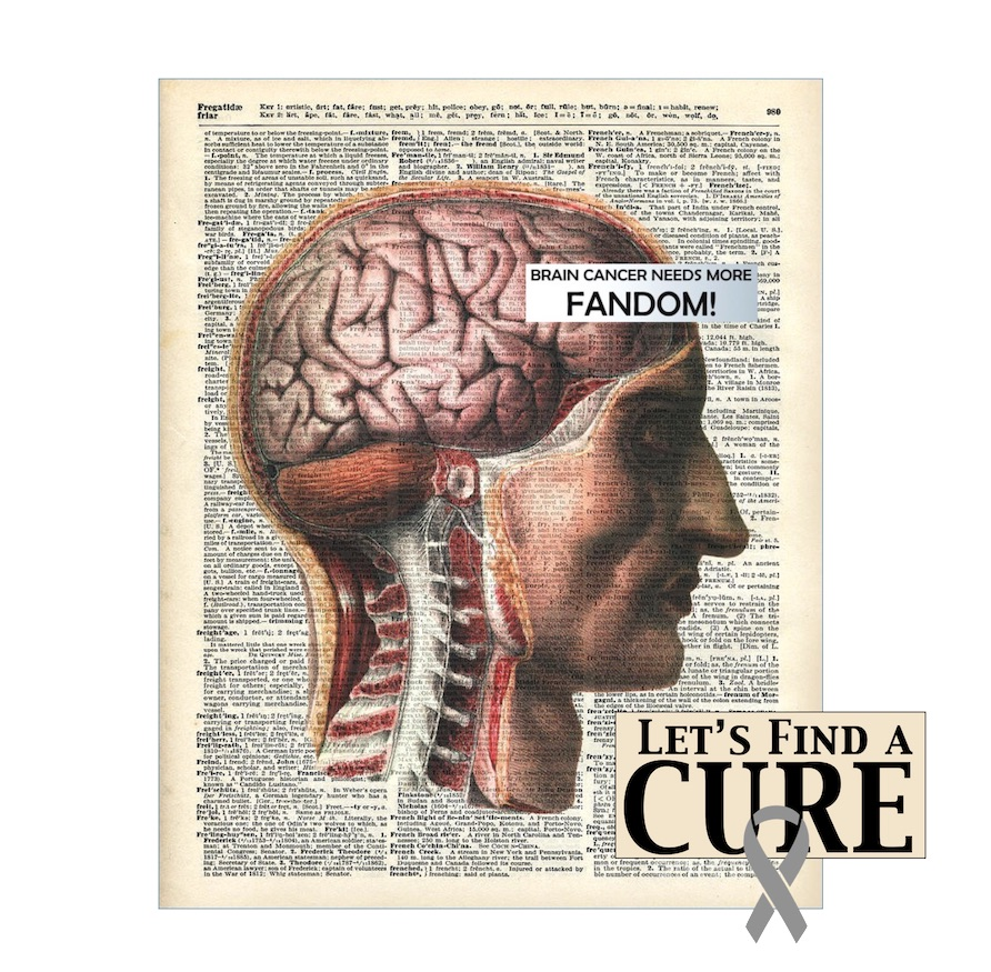Find a Cure for Brain Cancer promo.