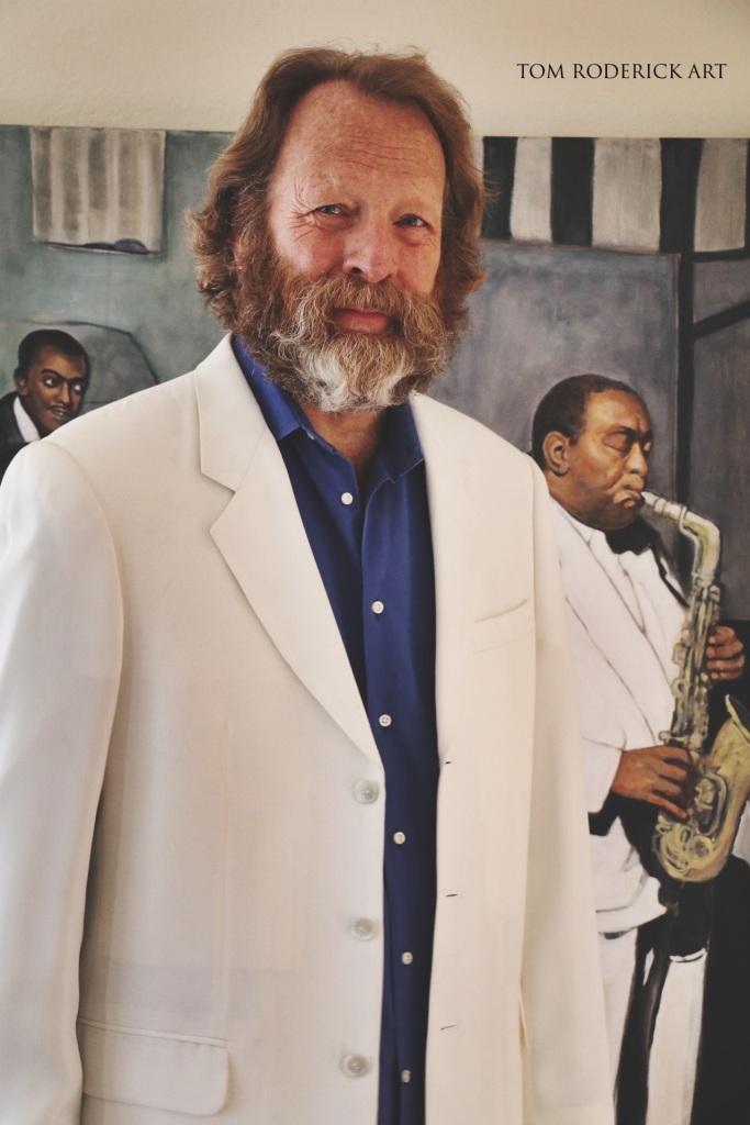 Portrait of Boulder Artist Tom Roderick