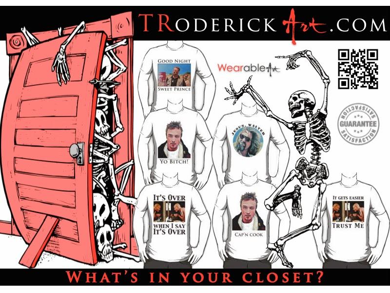 TRoderickArt halloween promo