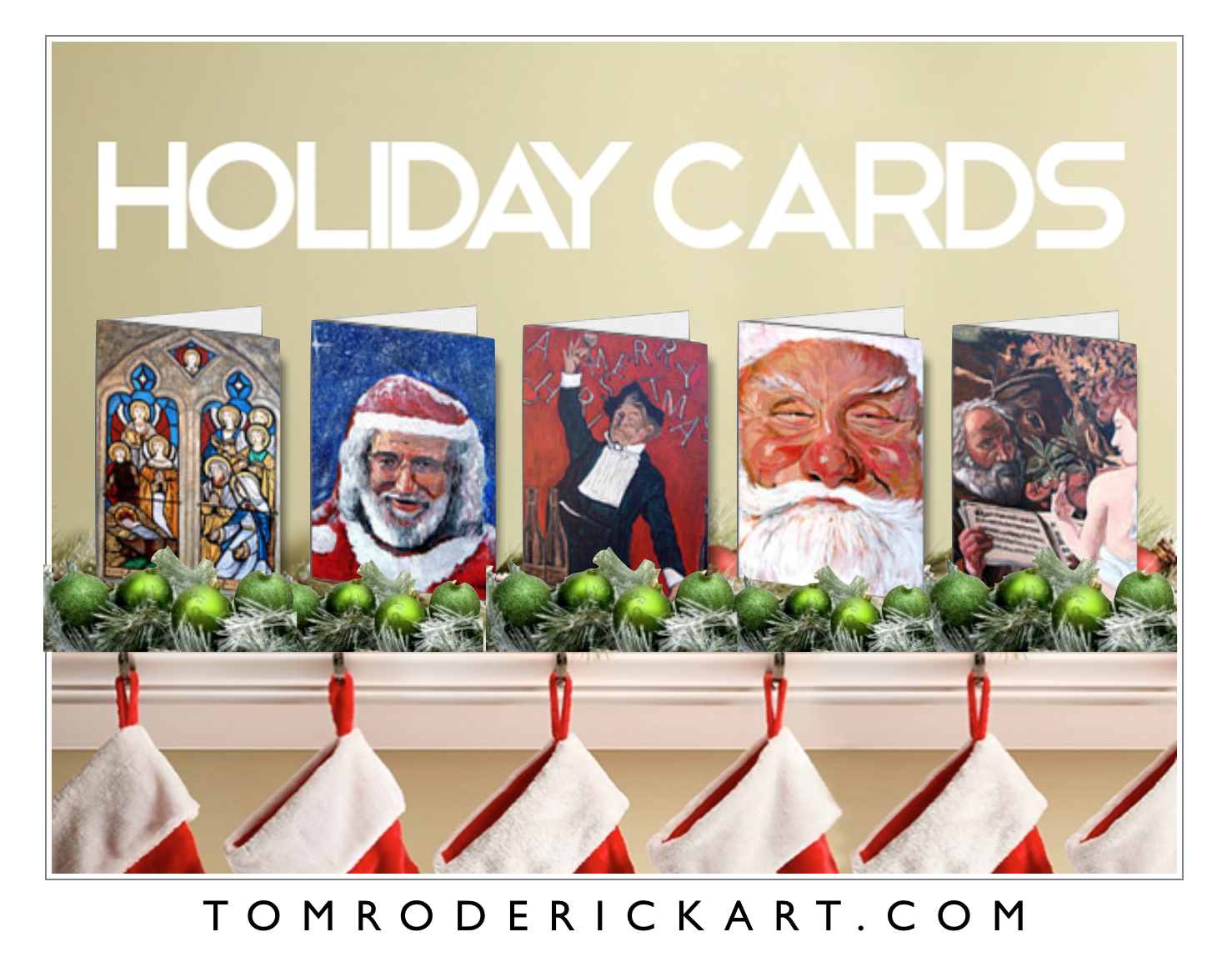Holiday Cards by Tom Roderick