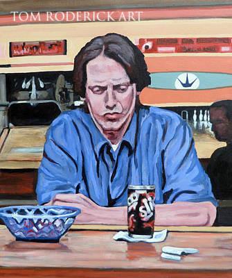 Portrait of Donny by Boulder portrait artist Tom Roderick.