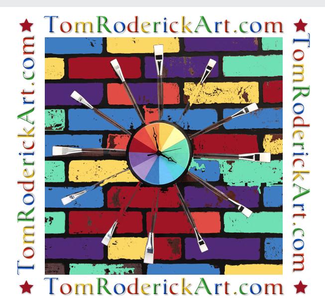 Daylight Savings promo for Tom Roderick Art