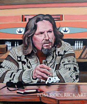 The Dude by Boulder portrait artist Tom Roderick.