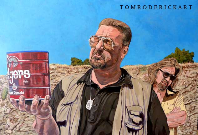Veterans Day Salute Promo He Was One of Us by Boulder portrait artist Tom Roderick.