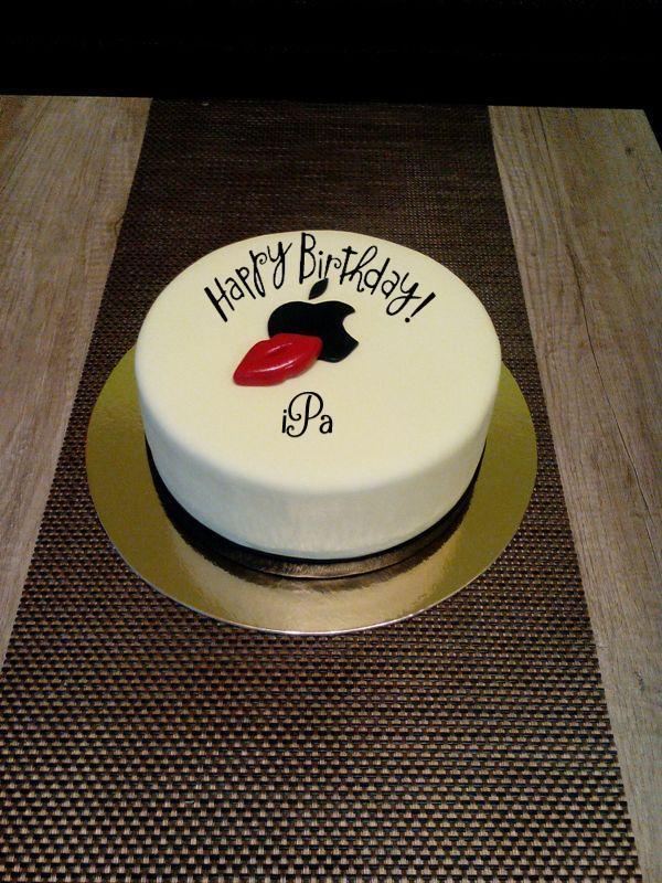 Happy birthday iPa cake
