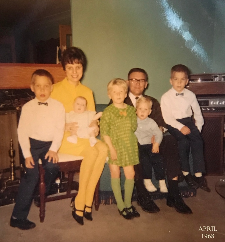 Stalmack Family Easter 1968